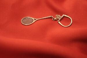 Schlüsselanhänger 20g Sterling Silber 925 Tennisschläger