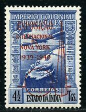 Port. Indien India 1939 EXPO New York Flugzeug 417 Mint Ungebraucht Signiert