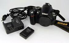 Nikon D3000 DSLR Digitalkamera, 10 MP, Guter Zustand, Body