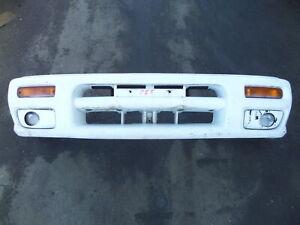 Subaru Impreza Front Bumper w/ Fog Lights White GM 99-00 OEM