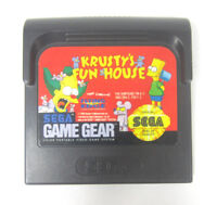 Krusty's Fun House (Sega Game Gear) Video Game Cartridge - Free Shipping