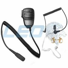 Mic + 3.5mm Listen Only Earpiece + 2 Earmolds Motorola XPR6550 APX6000 Radios