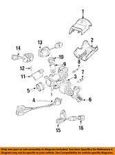 BMW OEM 96-98 Z3 Steering Column-Ignition Lock Housing 32321093266