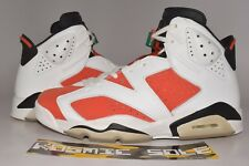 Nike Air Jordan 6 Retro Orange Gatorade Style # 384664-145 Size 10