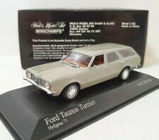 MINICHAMPS 1/43 Ford Taunus Turnier 1970 break  Limited a 2544 Pcs Grey