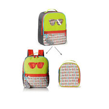 SKIP HOP Zoo Backpack Forget Me Not Backpack & Lunch Bag Set (Glasses)