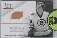 Rick Middleton 2012-13 Panini Luxury Suite Game Used Stick Card Boston Bruins
