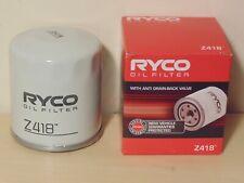 Z418 RYCO Oil Filter for Toyota SUPRA 2JZGTE Camry Hilux Prado Lexus IS200 LS430