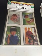 Photographic Learning Cards Actions Pre K - Grade 1 Ell Ke-845005