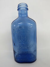 Milk of Magnesia Chas H Phillips Chemical Co Vintage Glass Bottle 098B