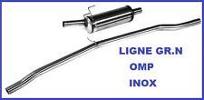 LIGNE ECHAPPEMENT GROUPE N OMP PEUGEOT 205 1.3 RALLYE EN INOX