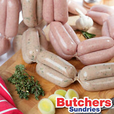5 Pack of 26mm Collagen Sausage Casings / Skins Ideal for Traditional Sausages!