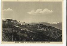 78835 vecchia cartolina di massino visconti IL MOTTARONE DAL MONTE SAN SALVATORE