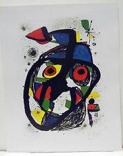Joan Miró CAROTTA - 24 x 30 cm - VG Bild-Kunst Bonn - NEU (167)