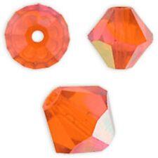 Swarovski Crystal Bicone. Hyacinth AB Color. 4mm. Approx. 144 PCS. 5328