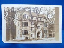 Old Real Photo Postcard RPPC Leet Oliver Hall Yale University New Haven CT