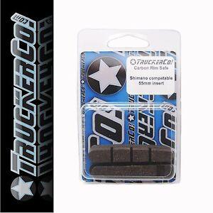 Carbon Rim Safe TruckerCo High Performance Brake Pads shimano r55c dura ace 55mm