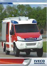 Fire Equipment Brochure - Iveco Magirus - Light Pumper Trucks  (DB233)