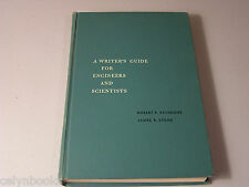 A Writer's Guide For Engineers And Scientists by Robert Rathbone J Stone 1962