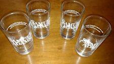 4-Samuel Adams 7 Ounce Tasting Glasses