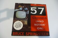 """BRUCE SPRINGSTEEN MAXI 45T HOLLAND PRESS. 57 CHANNELS. 12"""""""