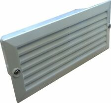 9w CFL Low Energy Outdoor Brick Light White Grille Building Lighting
