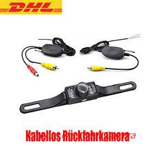 AUTO Mini Rückfahrkamera Nachtsicht+Funk KFZ Sender+Empfänger 2.4G Kabellos Set
