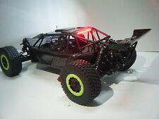 LOSI TEN SCBE CARBON FIBER BODY SET WITH LED LIGHTS/REAR SPOILER FINAL EVOLUTION