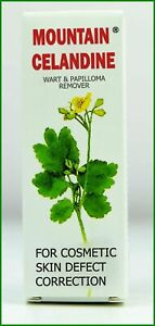 Mountain Celandine Balm Papilloma Hard skin, dry corns, Jaskolcze ziele 15ml