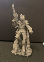 Cobb Vanth in Beskar Flying Rifle Mandalorian (Star Wars Legion) 3D UNPAINTED