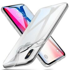 COVER TRASPARENTE MORBIDA PER IPHONE X & SAMSUNG S9 / S9 PLUS TPU