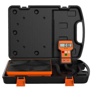 Elitech LMC-100F Digital Refrigerant Charging Weight Scale HVAC Scale 110Lbs