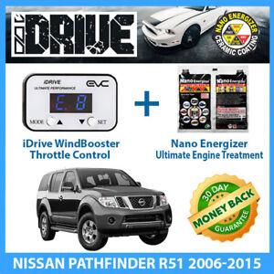 IDRIVE THROTTLE CONTROL for NISSAN PATHFINDER R51 2006-2015 + NANO ENERGIZER AIO