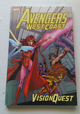 Avengers West Coast: Vision Quest trade paperback Byrne first printing '05 rare