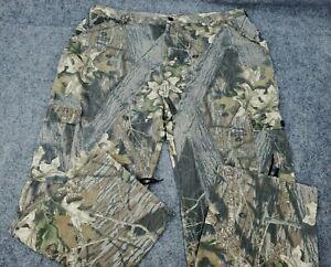 Men's 2X Jerzees Outdoor Hunting Camouflage Over Pants Mossy Oak Break up XX