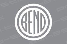 Bend, Oregon Vinyl Decal Sticker