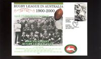 SOUTH SYDNEY RABBITOHS 1900-2000 RUGBY COVER, 1908 TEAM