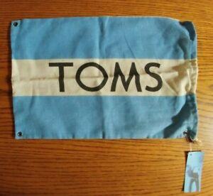 TOMS Shoe Bag Flag New