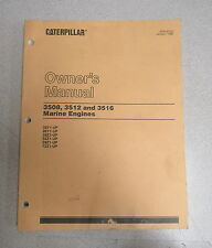 Caterpillar Cat 3508 3512 3516 Marine Engines Parts Catalog Manual 50Y 96Y 1990