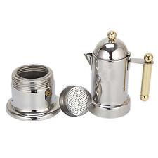 Moka Induction Italian Stove-Top Espresso Coffee Maker Coffee Pot Stainless