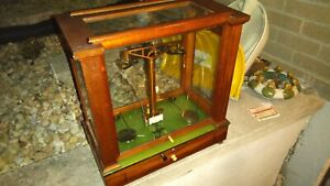 Model 1896 Antique CHRISTIAN BECKER Scientific Scale with Accessories