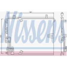 Kondensator Klimaanlage - Nissens 94158