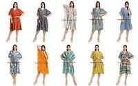 Indian New Womens Hippie Boho Caftan Kaftan kimono Cocktail Maxi Dress Plus Size