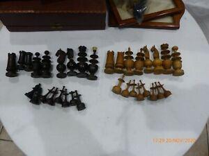 jeux d échecs bois ancien