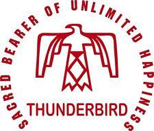 Car or Truck Window Die-Cut Vinyl Sticker # 136 Native-American Thunderbird