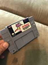 Super Widget Super Nintendo SNES Tested & Working Ships Free Read