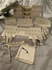 1950s Vintage Louis Marx White House Playset Washington Lincoln Roosevelt Truman
