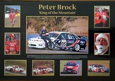 PETER BROCK -  KING OF THE MOUNTAIN  POSTER