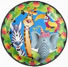 Jungle Party 23 cm Dinner Plates - 8 pack