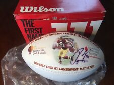 Redskins Rare Wilson Football Made For Special Event And Signed By Ryan Kerrigan